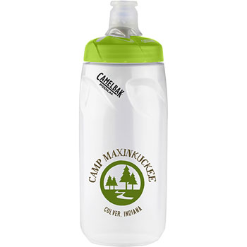 1388301062 - Podium® 21 oz. Bottle Clear/Green Lid