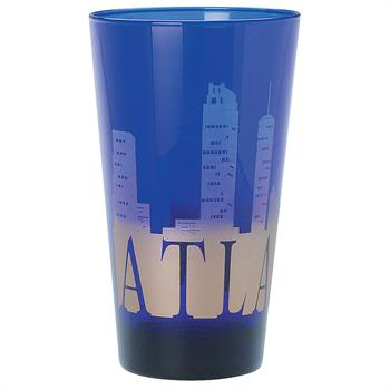 7002 - Blue Glass Pint 16 oz.