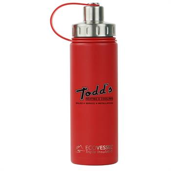 ECOBLD600RD - Boulder 20 oz. Bottle Red