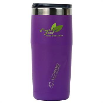 ECOMTRO16PR - METRO 16 oz. Travel Tumbler Purple Rain