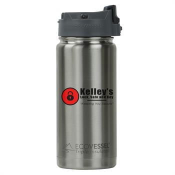 ECOPER473SE - Perk Travel Mug 16 oz. Stainless