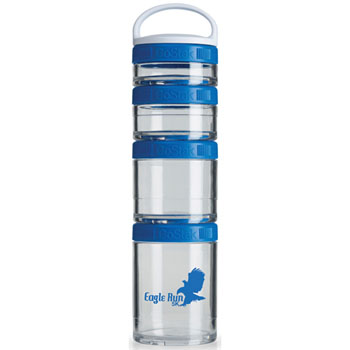 GSTK12 - BlenderBottle® GoStak™ - Clear/Blue