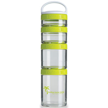 GSTK14 - BlenderBottle® GoStak™ - Clear/Green