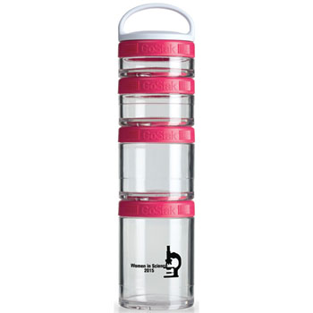 GSTK25 - BlenderBottle® GoStak™ - Clear/Pink