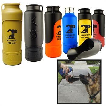 K9UNIT - K9Unit Large Dog Water Bottle and Travel Bowl