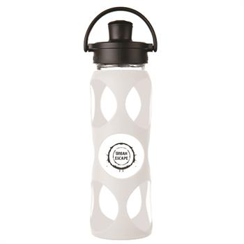 LF240004C4 - Glass Water Bottle 22 oz. Optic White