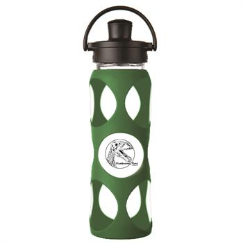 LF240005C4 - Glass Water Bottle 22 oz. Green