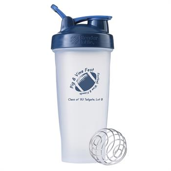 NB282 - BlenderBottle® Classic™ - 28 oz. - Clear/Navy