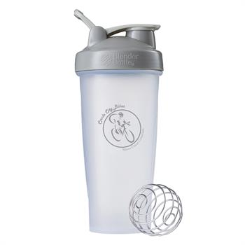 NB289 - BlenderBottle® Classic™ - 28 oz. - Clear/Grey