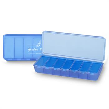 PS7DAY-BLUE - 7 Day Pill Container Blue