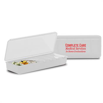 PS7DAY-WHITE - 7 Day Pill Container White