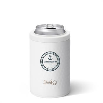 S106-ICC-WH - Golf Partee Combo Can and Bottle Cooler 12 oz
