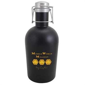 SG64BLK - Stainless Steel Growler 64 oz. Black