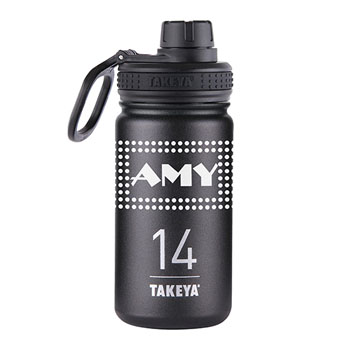 THERMO14B - Takeya® Thermoflask 14 oz. Black