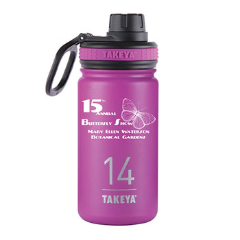 THERMO14OR - 14 oz. Takeya® Thermoflask Orchid