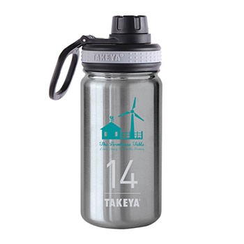 THERMO14ST - Takeya® Thermoflask 14 oz. Stainless