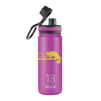 THERMO18OR - 18 oz. Takeya® Thermoflask Orchid