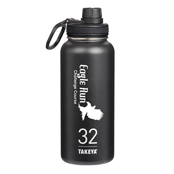 THERMO32B - Takeya® Thermoflask 32 oz. Black