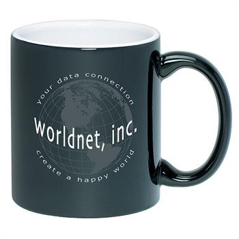 TTA4918 - Two Toned Anchor Mug 11 oz. Black Out/ White In
