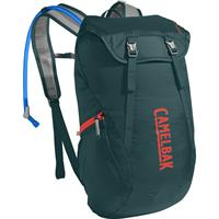 Arete 18 1.5L/50 oz. Deep Teal/Hot Coral