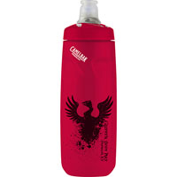 Podium® 24 oz. Bottle Red