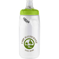 Podium® 21 oz. Bottle Clear/Green Lid