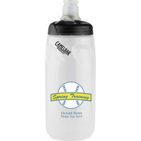 52335-Podium® 21 oz. Bottle Clear/Black Lid