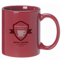 A4911-Anchor Mug 11 oz. Cranberry
