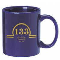 A4912-Vivid Blue Ceramic Anchor Mug