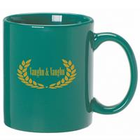 A4914-Anchor Mug 11 oz. Green
