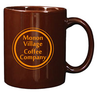 A4916-Brown Ceramic Anchor Mug