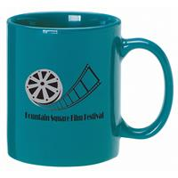 A4922-Teal Ceramic Anchor Mug