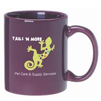 A4923-Purple Ceramic Anchor Mug