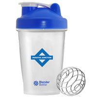 BlenderBottle® Classic™ - 20 oz. - Clear/Blue