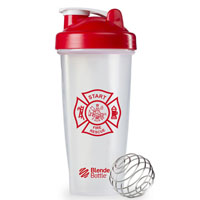 BlenderBottle® Classic™ – 28 oz. – Clear/Red