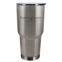 BOSS STAINLESS-Boss Tumbler 30 oz. Silver