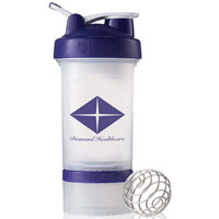 BlenderBottle® ProStak™ - Clear/Purple