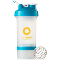 BlenderBottle® ProStak™ - Clear/Aqua
