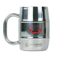 Double Barrel Mug 16 oz Stainless