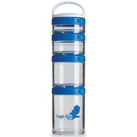 GSTK12-BlenderBottle® GoStak™ - Clear/Blue