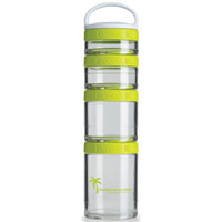 GSTK14-BlenderBottle® GoStak™ - Clear/Green