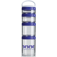 GSTK23-BlenderBottle® GoStak™ - Clear/Purple