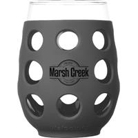 LF320410C4-Wine Glass 17 oz. Carbon