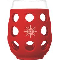 LF320411C4-Wine Glass 17 oz. Cardinal