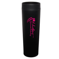 MONT08-Black Monterey Tumbler with Black Trim/Liner
