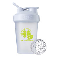NB200-BlenderBottle® Classic™ - 20 oz. - Clear/White
