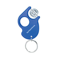 Spinner Key Tag™ Translucent Blue