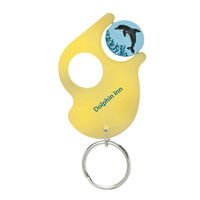 Spinner Keychain™ Translucent Yellow