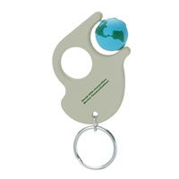 Spinner™ Keychain Translucent Smoke