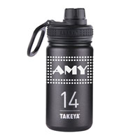 THERMO14B-14 oz. Takeya® Thermoflask Black